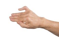 断手指 库存图片