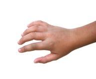 断手指 免版税库存图片