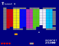 断裂拱廊比赛  免版税库存照片