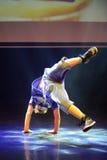 断裂舞蹈舞蹈家 免版税库存图片