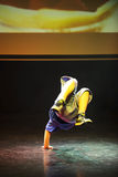 断裂舞蹈舞蹈家 免版税图库摄影