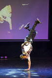 断裂舞蹈舞蹈家 图库摄影
