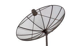 断送卫星 免版税库存照片