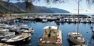 斯佩尔隆加典型国家'南部的意大利语 图库摄影