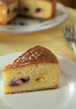 巴斯克蛋糕 图库摄影