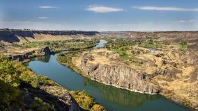 斯内克河峡谷 免版税图库摄影