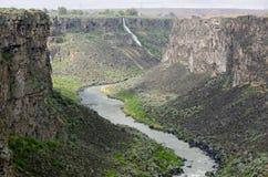 斯内克河峡谷 免版税库存照片