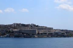 斯利马江边,马耳他 免版税库存图片