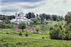 斯勒尼克Muscel修道院 库存图片