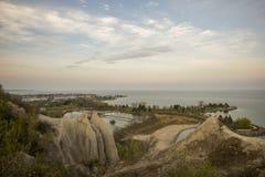 斯卡伯勒崖公园 库存图片