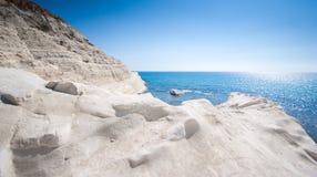 斯卡拉dei Turchi -西西里岛- 1 库存图片