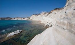 斯卡拉dei Turchi -西西里岛- 1 库存照片