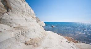 斯卡拉dei Turchi -西西里岛- 3 免版税库存照片