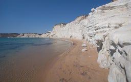 斯卡拉dei Turchi -西西里岛- 1 免版税库存照片