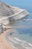 斯卡拉dei Turchi -西西里岛- 2 图库摄影
