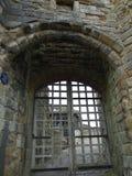 斯卡巴勒城堡口岸卡利斯,斯卡巴勒北约克郡英国 库存照片
