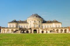 斯图加特城堡孑然 免版税库存照片