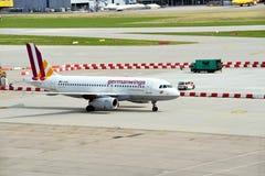 斯图加特机场 免版税库存照片