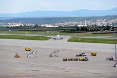 斯图加特机场 库存图片