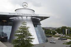 斯图加特,德国31日2012年:现代汽车博物馆`默西迪丝`在斯图加特 免版税图库摄影