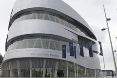 斯图加特,德国31日2012年:现代汽车博物馆`默西迪丝`在斯图加特 库存图片