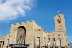 斯图加特Hauptbahnhof (中央岗位) 免版税库存图片