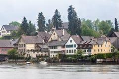 斯坦上午莱茵瑞士 图库摄影