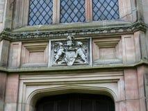 斯坦利家庭陵墓在圣Mary's下面的Alderley的彻斯特教区教堂里 免版税库存图片
