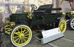 1908年斯坦利火轮轻便汽艇 免版税库存图片