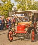 斯坦利葡萄酒蒸汽汽车1910年。 免版税图库摄影