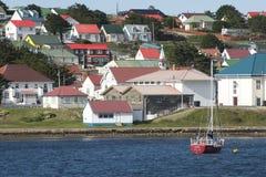 斯坦利,福克兰群岛 免版税库存照片