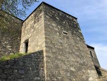 斯坦城堡废墟或施洛斯斯坦或Ruine斯坦或Schlossruine斯坦,巴登市 免版税库存图片