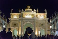 斯坦尼斯拉斯广场在南希的历史中心 库存照片