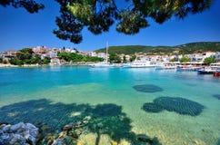 斯基亚索斯岛,希腊 免版税库存图片