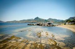 斯基罗斯岛海岛爱琴海希腊 免版税库存图片