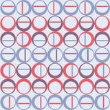 斯堪的纳维亚无缝的纹理圆 免版税库存图片