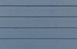 斯堪的纳维亚木纹理在灰色蓝色1 -纹理-背景& x28中; 波尔沃, Finland& x29历史的老镇; 免版税库存图片