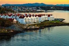 斯塔万格在挪威 免版税库存照片