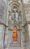 斯塔万格大教堂侧门(XIII c ) 挪威 免版税图库摄影