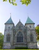 斯塔万格大教堂001 免版税库存图片