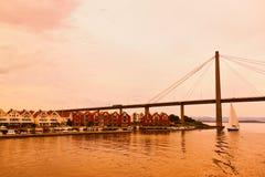 斯塔万格-挪威 库存照片