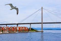 斯塔万格-挪威 免版税库存照片