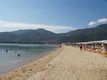 斯塔夫罗斯海滩,希腊 免版税库存图片