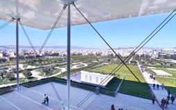 斯塔夫罗斯Niarchos基础文化中心希腊 免版税库存图片