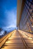 斯塔夫罗斯Niarchos文化中心建筑学设计的基础,雅典,希腊 库存照片