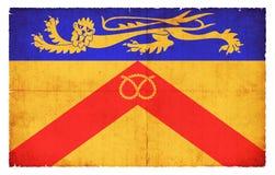 斯塔福德郡大英国难看的东西旗子  库存图片