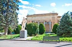 斯大林博物馆和纪念碑在Gori 免版税图库摄影
