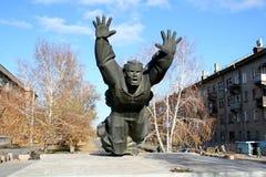 斯大林格勒的防御者 免版税库存照片