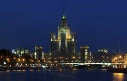 斯大林的帝国摩天大楼 免版税库存照片