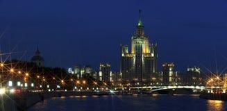 斯大林的帝国建筑学 免版税图库摄影